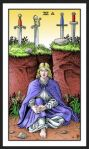 Alchemical Tarot: Four Swords