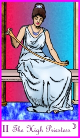 Tarot of the Masters -- High Priestess