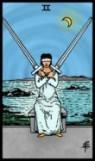 Two of Swords RWS2.0 Tarot eCards