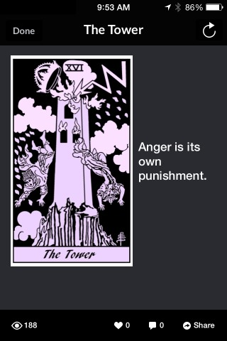 9 11 2014 TOWER Pithy Tarot App