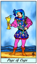 Page of Cups -- Pithy Tarot