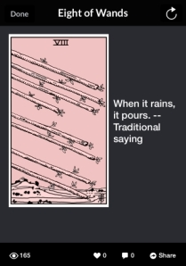 Eight of Wands rains 50pct 2