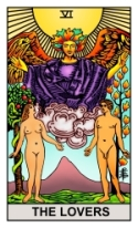 The Lovers: RWS2.0 (Tarot eCards)