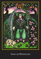 World Spirit Tarot Sage or King of Pentacles