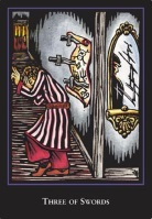 World Spirit Tarot Three of Swords