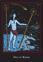 World Spirit Tarot Two of Wands