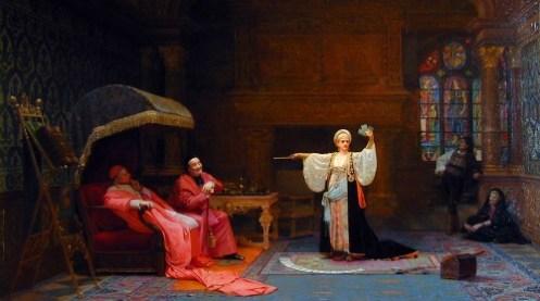 "Jehan Georges Vibert – ""Fortune Teller"""