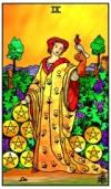 Nine of Pentacles Pithy Tarot