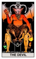 Devil RWS2.0 Tarot eCards