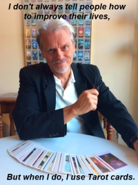The most interesting tarot reader in the world