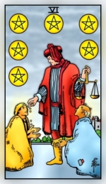 RWS 2.0 Six of Pentacles