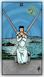 RWS 2.0 Two of Swords