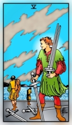 RWS 2.0 Five of Swords