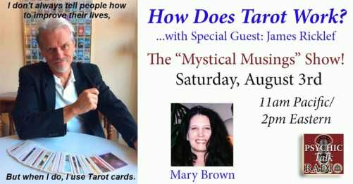 Mystical Musings show Aug 3 2019